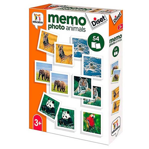 Joc Memoria Memo Photo Animals - Imatge 1