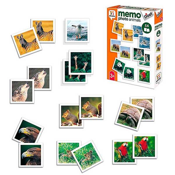 Juego Memoria Memo Photo Animales - Imatge 1