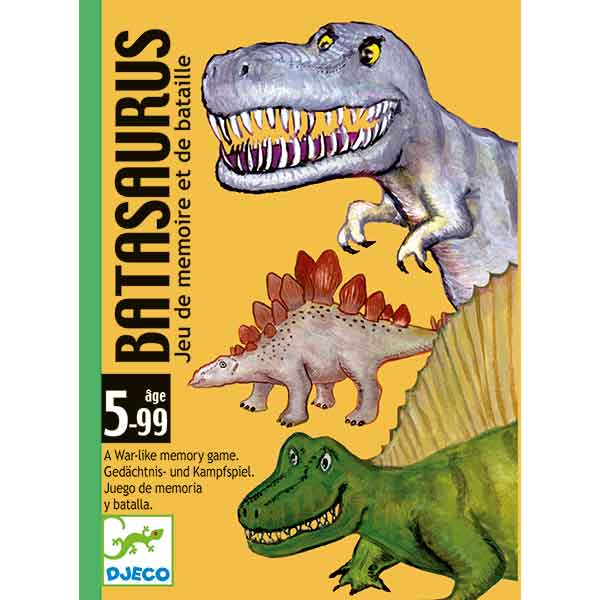 Djeco Juego de Cartas Batasaurus