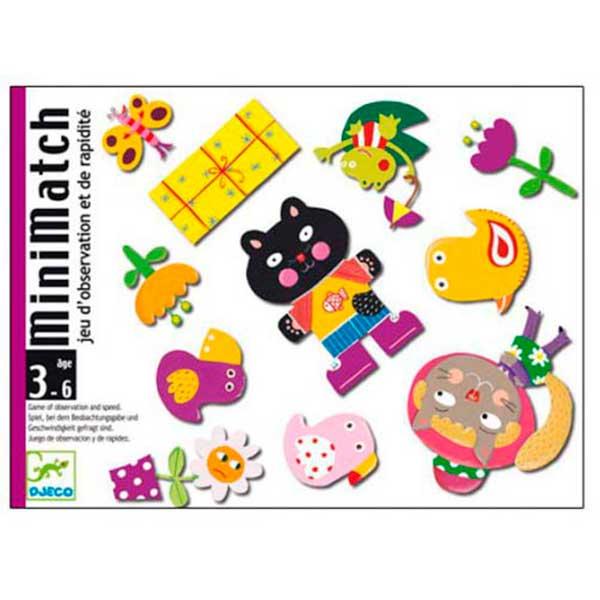 Joc de Cartes Djeco Minimatch - Imatge 1
