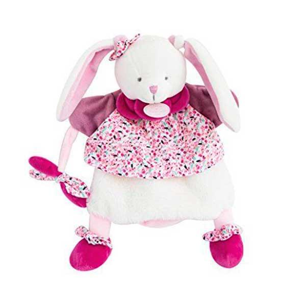 Marioneta Doudou Conejita Cerice Rosa