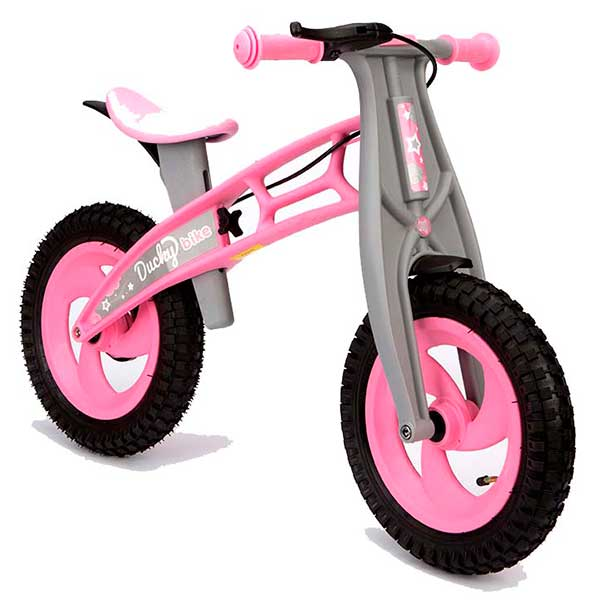 Bicicleta Infantil Ducky Bike Rosa sense Pedals - Imatge 1