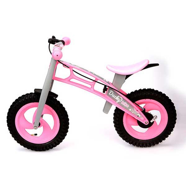 Bicicleta Infantil Ducky Bike Rosa sin Pedales - Imatge 1