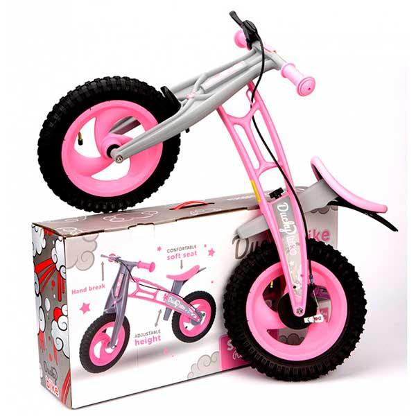 Bicicleta Infantil Ducky Bike Rosa sin Pedales - Imatge 3