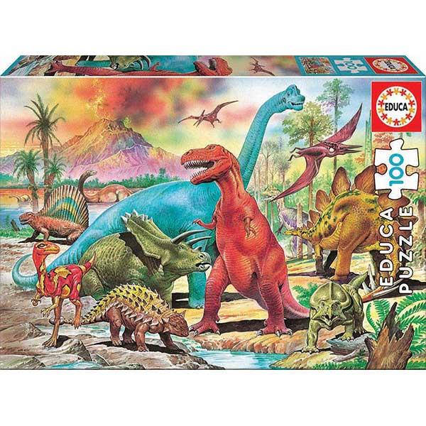 Puzzle 100p Dinosaures - Imatge 1
