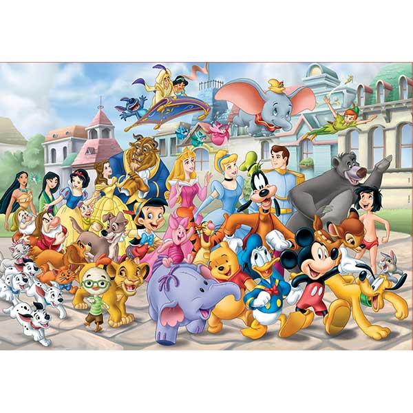 Puzzle 200p Cabalgata Disney - Imatge 1