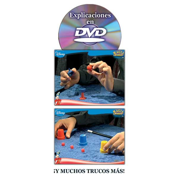 Juego Magia Borras Mickey Magic Disney DVD - Imatge 2