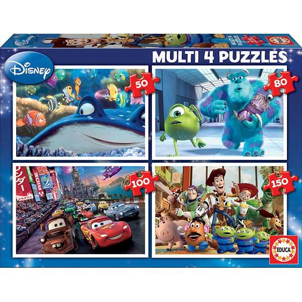 Multi 4 Puzzles Pixar