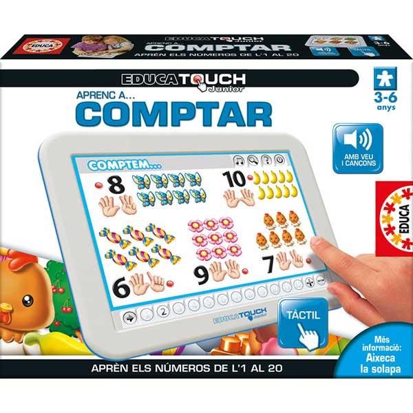 Joc Educa Touch Junior Aprenc Comptar Català - Imatge 1