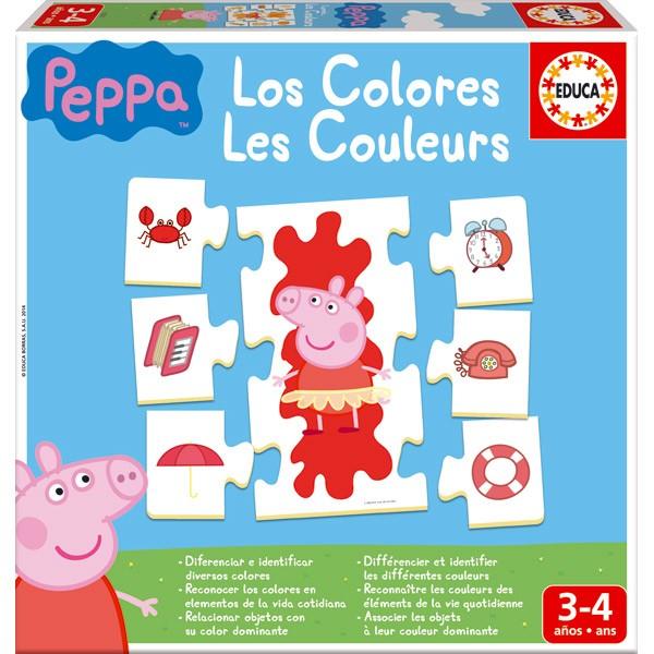 Porquinha Peppa Eu Aprendo Cores Com Peppa