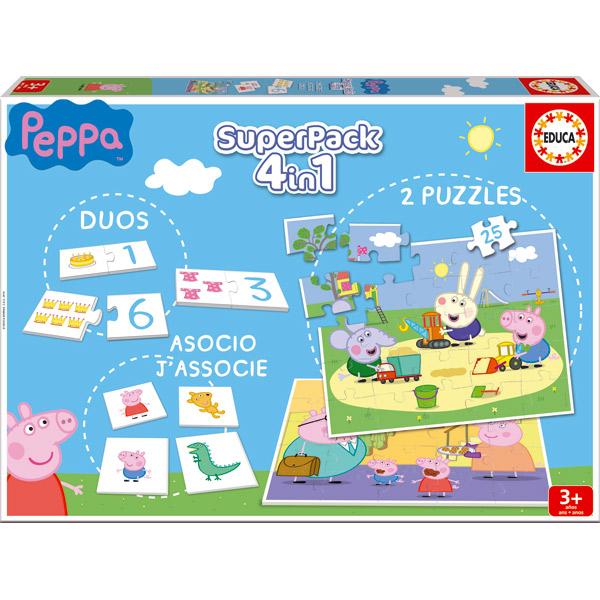 Superpack 4en1 Peppa Pig