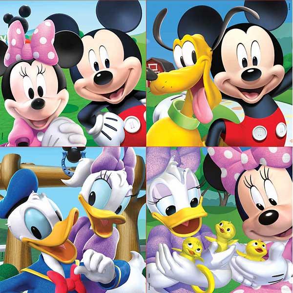 Maleta Puzzle 12-16-20-25 Mickey - Imatge 1