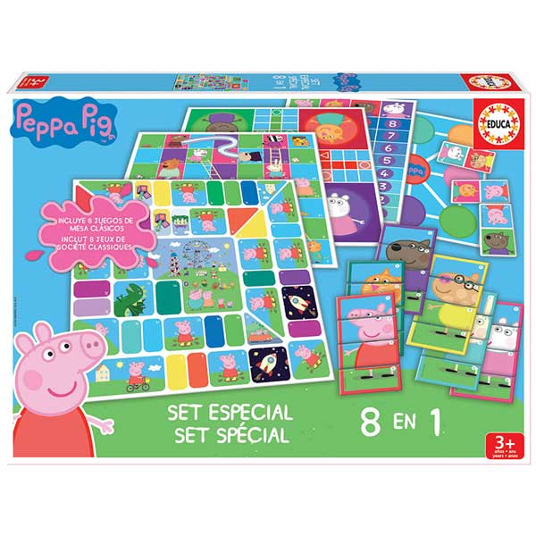 Set 8 en 1 Juegos Peppa Pig - Imagen 1