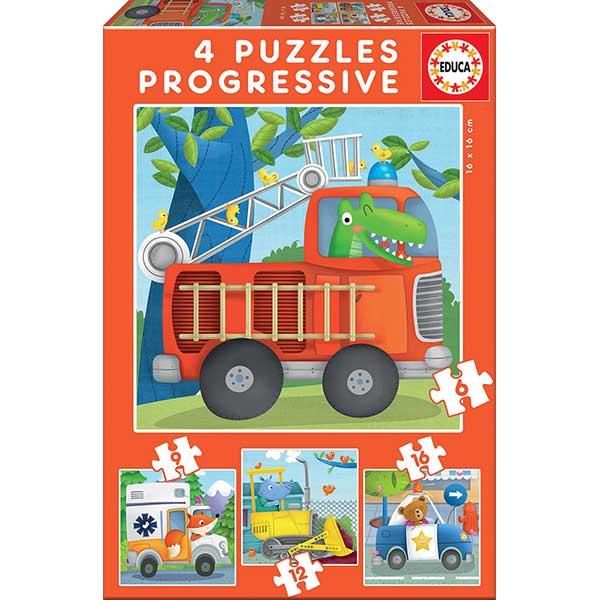Puzzle 6+9+12+16P Patrulha De Resgate