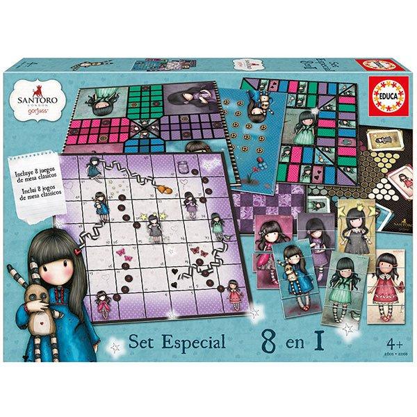 Set Especial Juegos 8en1 Gorjuss