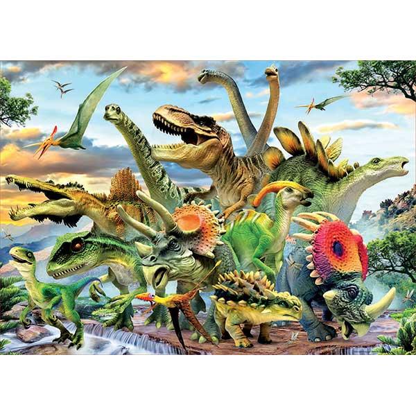 Puzzle 500p Dinosaurios - Imatge 1