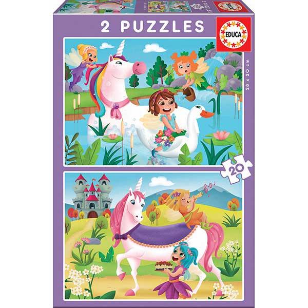 Puzzle 2x20 Unicorn i Fades - Imatge 1