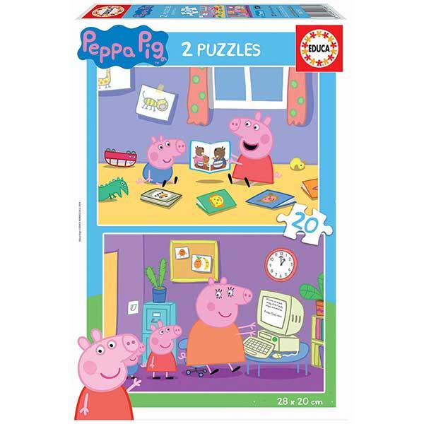 Puzzle 2x20 Porquinha Peppa