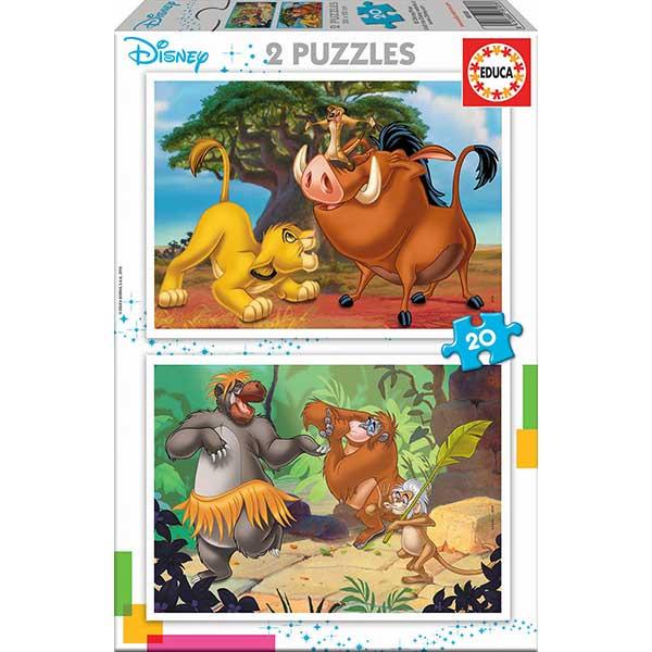 Puzzle 2x20 Disney Animals - Imatge 1