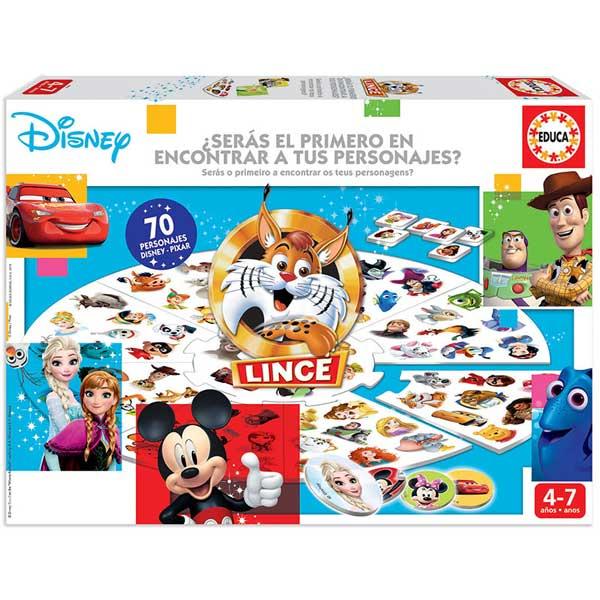 Juego Lince Disney
