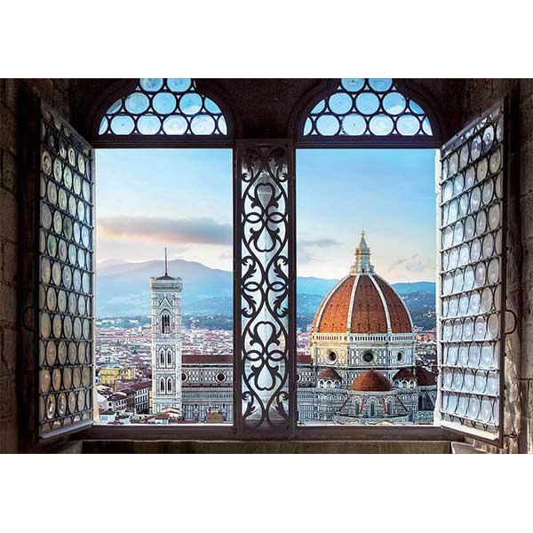 Puzzle 1000p Vistas de Florencia - Imagen 1