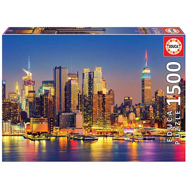 Puzzle 1500P Manhattan À Noite