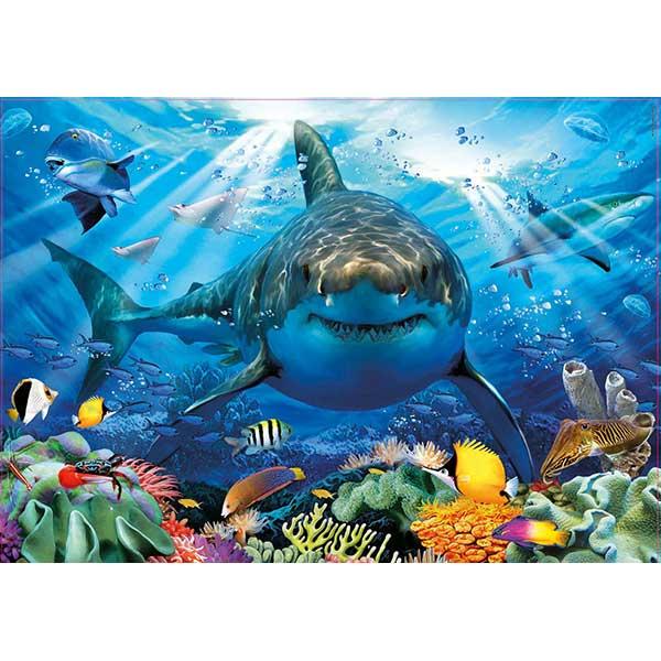 Puzzle 500p Tiburón Blanco - Imagen 1