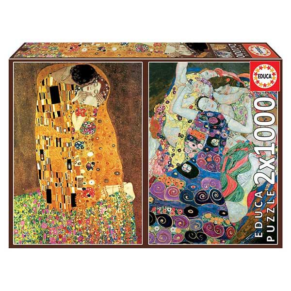 Puzzle 2X1000P Gustav Klimt
