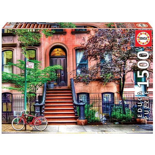 Puzzle 1500p Greenwich Village Nueva York