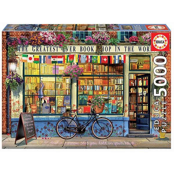 Puzzle 5000P Livraria Mundial