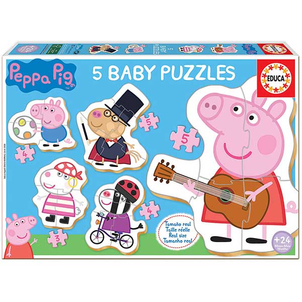 Porquinha Peppa Puzzle Baby Progressivo