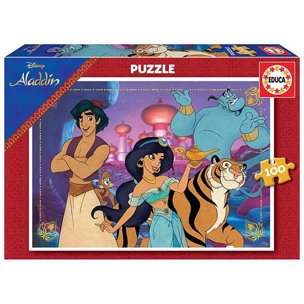 Disney Puzzle 100P Aladim