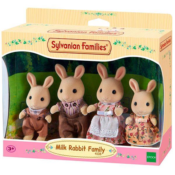Sylvanian Families 4108 Familia Conejos Blancos
