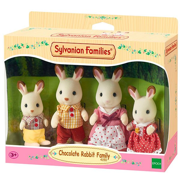 Sylvanian Families 4150 Familia Conejos Chocolate