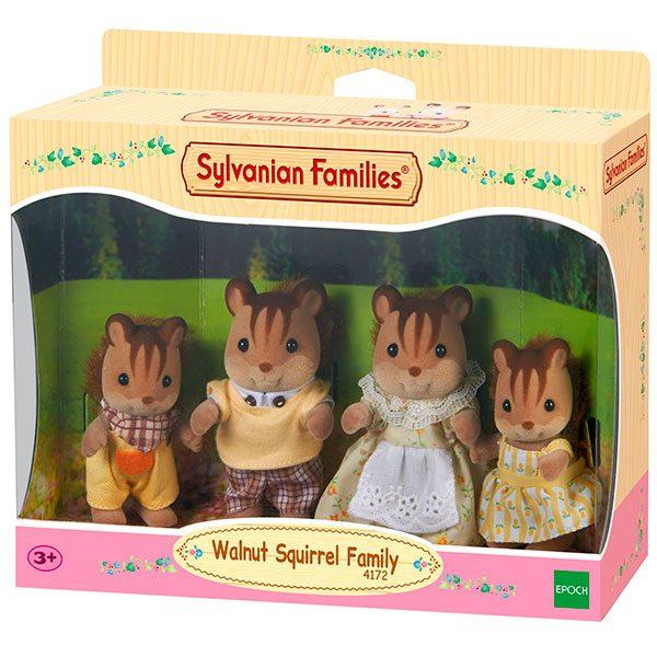 Sylvanian Families 4172 Familia Ardillas de la Nuez
