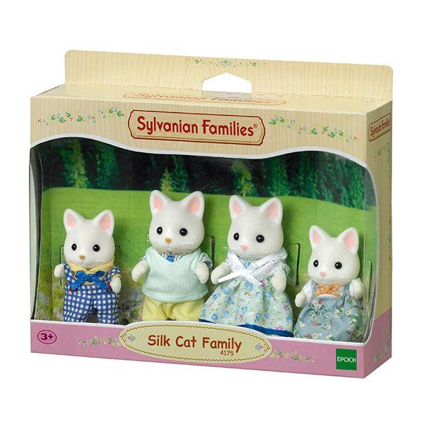Sylvanian Families 4175 Familia Gatos Seda