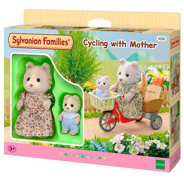Sylvanian Families 4281 Pedaleando con Mamá