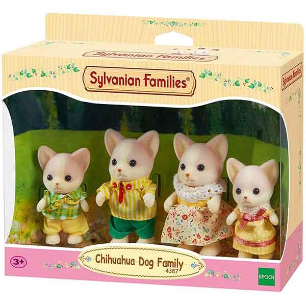 Sylvanian Families 4387 Familia Perros Chihuahua