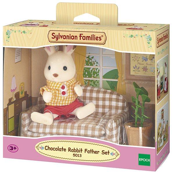 Sylvanian Families 5013 Set Papá Conejo Chocolate Te