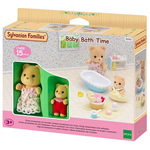 Sylvanian Families 5092 La Hora del Baño para el Bebé