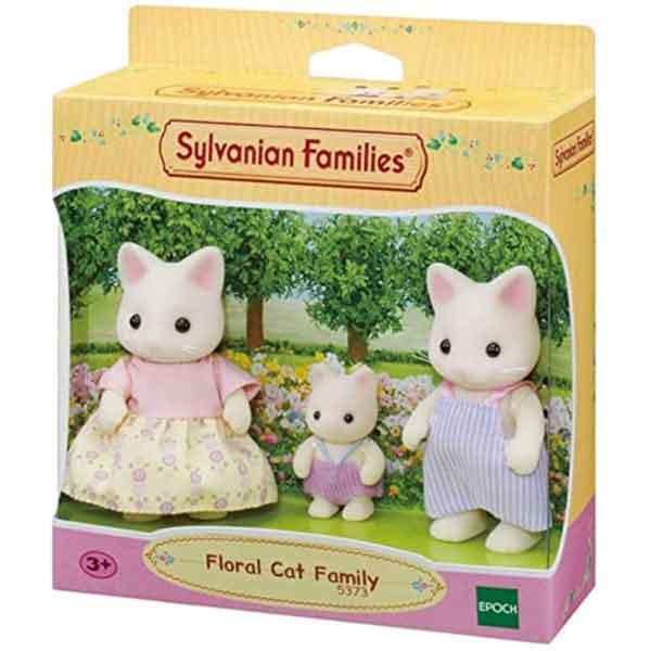 Sylvanian Families 5373 Familia Gato Floral