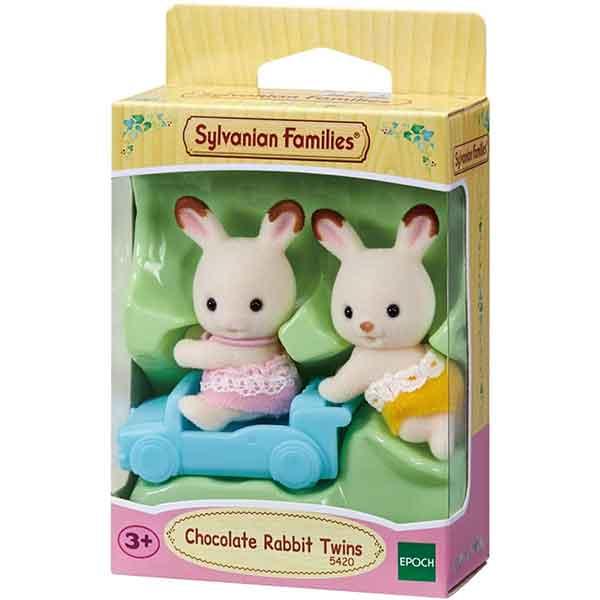 Sylvanian Families 5420 Conejos Chocolate Gemelos