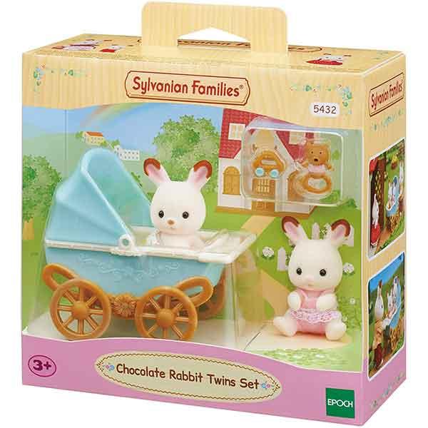 Sylvanian Families 5432 Set Conejos Gemelos