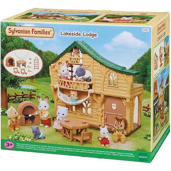 Sylvanian Families 5451 La Cabaña Del Lago