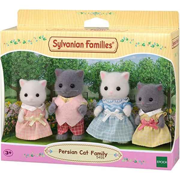 Sylvanian Families 5455 Familia Gato Persa