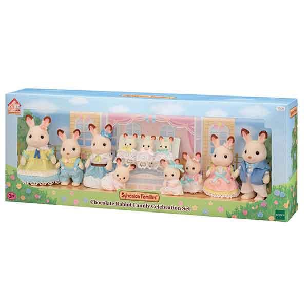 Sylvanian Families 5506 Familia Conejos Chocolate