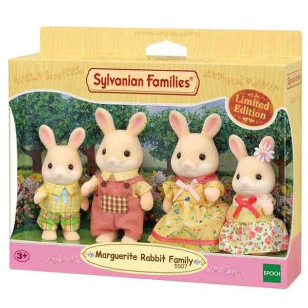 Sylvanian Families 5507 Familia Marguerite Rabbit