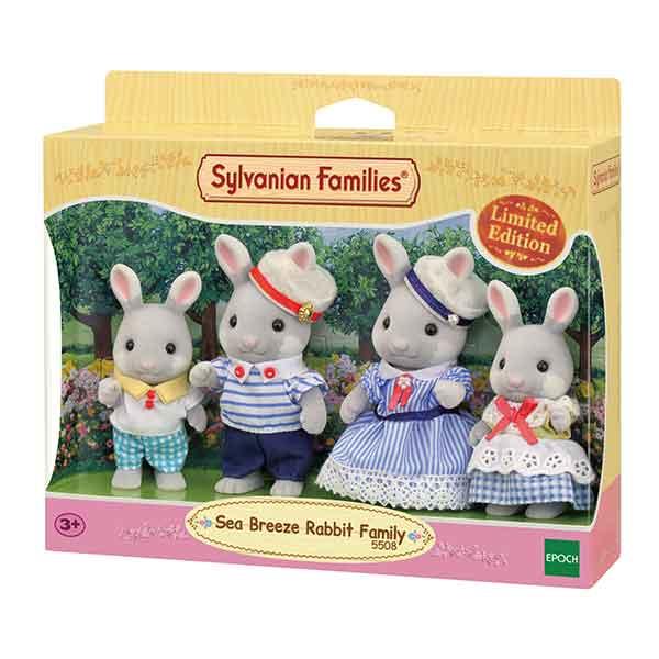 Sylvanian Families 5508 Familia Sea Breeze Rabbit