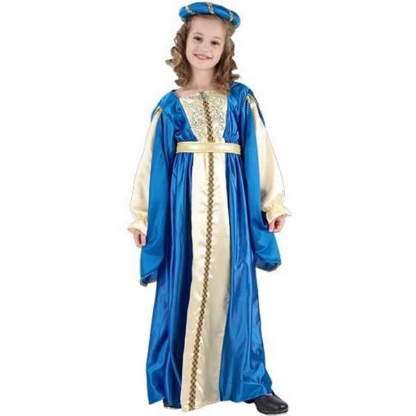 Disfraz Princesa Azul 7-9