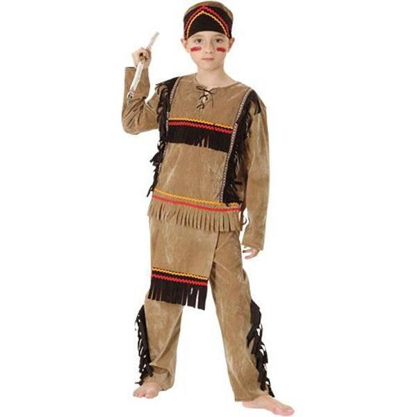 Disfraz Indio 7-9 Años